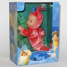 ANNE GEDDES DOLLS 'Under the SEA' collection NEW in Box BABY SHRIMP Doll 9''
