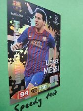 Panini Adrenalyn Champions League 2011 2012  Limited edition Barcelona Messi