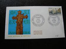 ANDORRE (francais) - enveloppe 1er jour 13/6/1970 (cy67) andorra
