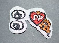 Pound Puppies Cute Iron-on Applique Licensed Vintage Embroidered Patch Puppy Toy