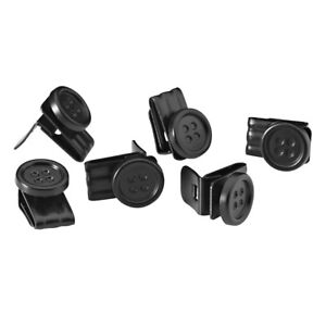 No-Sew EZ-Buttons (movable) - Set of 6