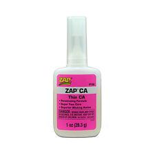Pacer ZAP ca Super Thin PT08 Cyanoacrylate Adhesive 1oz  Free P&P