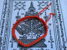 Bracelet sacré Sai Sin en coton tissé Chance Bouddhisme - Thaïlande