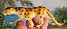 "Cheetah Figure Vintage Figurine 1998 Pvc Toy 6.5 X 2"""