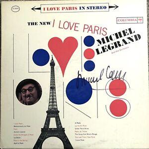 Michel Legrand signed Album