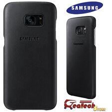 Custodia LEATHER COVER Originale Samsung Per Galaxy S7 edge G935F in Vera Pelle