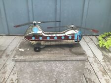 Vtg Pan American Skyway Helicopter Tin Toy made in Japan