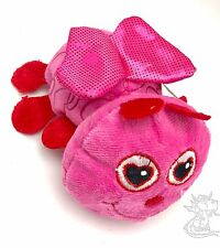 Soft Plush New Stuffed Pink  Lovebug Valentine Heart Shiny Wings 6in Bug New