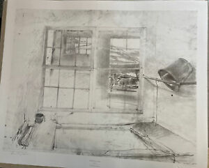 ANDREW WYETH Pencil Signed, Numbered SPRING FED Limited Edition COLLOTYPE S/N