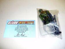 GI JOE JUNGLE VIPER Action Figure Exclusive SEALED COMPLETE w/FILE CARD v1 2005