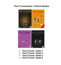 IT CROWD COMPLETE SERIES 1 2 3 4 DVD SET Brand New and Sealed UK Release Box