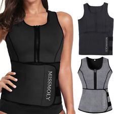 Plus Size Women Neoprene Body Shaper Slimmer Waist Trainer Vest Ultra Sweat Belt
