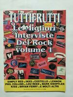 TUTTIFRUTTI ALLEG. N 92 MAGGIO 1990 SIMPLY RED KISS ELVIS PRESLEY LENNON COLLINS