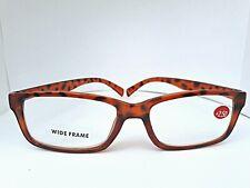 No Line Clear Lens Retro Square Frame Reading Glasses +2.50