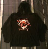 Metallica Sweatshirt KILL EM ALL San Francisco Giants 2014 Double Sided Med RARE