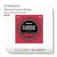 3 x D'Addario Classical Guitar Nylon String Normal Tension EJ27N + Free Pick set