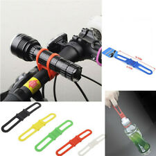 Elastic Bicycle Cycle Strap Band Light Mount Fastener to Fix Phone Torch Holder