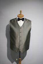 Men's Wedding Formal Business Vest Snooker Pool Bowling Darts vest size 38-46