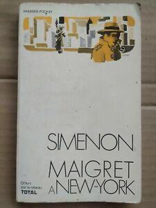 Georges Simenon - Maigret a New York / Presses Pocket,1972