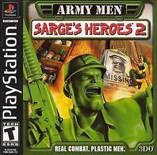 Army Men: Sarge's Heroes 2 (Sony PlayStation 1, 2000) SKU 2121