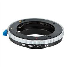 Adapter for Contax G CYG Lens to Fujifilm Fuji FX Medium Format Camera K&F