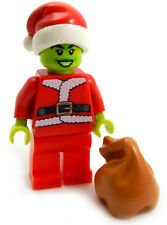 NEW LEGO GRINCH MINIFIG figure minifigure minifig stole christmas santa claus