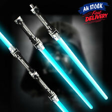 Double Cos Weapons Sword Toys Sabers For Star Wars Lightsaber LED Flashing Light