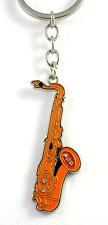 Musical Saxophone Keyring - Music Themed Gift - Saxophone Gift - Keyring