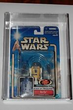 R2-D2 Coruscant Sentry Variant-Star Wars Attack of the Clones-Graded AFA U85