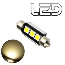 1 Ampoule navette c10w 41 mm 41mm 3 LED SMD 4300K Habitacle Plafonnier Plaque