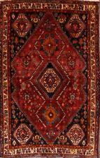 "Masterpiece Nomadic Tribal 4x7 Abadeh Wool Oriental Area Rug 6'8"" x 4'3"