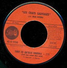 LES CHATS SAUVAGES 45 TOURS FRANCE L'AMOUR QUE J'AI POUR TOI