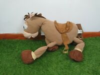 "BULLSEYE V LARGE 24"" DISNEY STORE TOY STORY STAMPED PLUSH SOFT TOY HORSE"