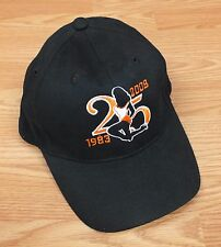 Hooters 1983-2008 25th Anniversary Silhouette Black Baseball Style Hat *READ*