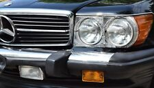 Mercedes R107 Umrüst Scheinwerfer komplettes Set - US auf EU Umbau - SL SLC W107