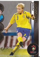 Petter Hansson Schweden Panini Golden Card EM 2008 Orig Sign. +A36904