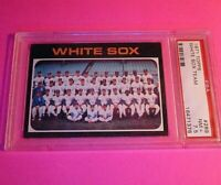 1971 TOPPS # 289 CHICAGO WHITE SOX TEAM, PSA 7.5 NM+