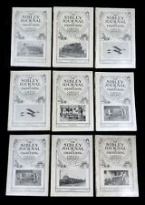 9 Issues SIBLEY JOURNAL of ENGINEERING Cornell University Complete Vol 25 1910 a