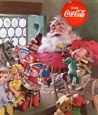 Santa Workshop Toys Coca Cola Ad