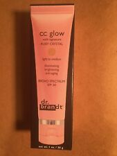 Dr. Brandt  - CC Glow with Signature Ruby Crystal, Light to Medium (1 oz)