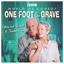 One Foot in the Grave Audio Book CD Alive & Buried Timeless Time Richard Wilson