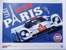 Gulf Porsche 917K Rodriguez//Oliver Victory tee by Hunziker Sizes S M 2XL