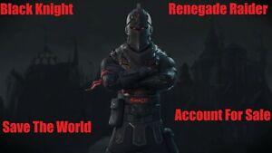 FORTINITE RARE S1 OG STACKED ACCOUNT | Black Knight, Renegade Raider Raffle