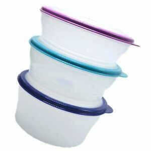 Tupperware Stuffables Serving Mixing Bowl Container Set NEW