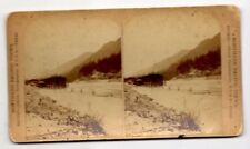 VERY RARE NORTHERN PACIFIC VIEWS LARGE STEREO VIEW CARD