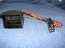 Autoradio Stecker Adapter ISO Blaupunkt > in BMW 5er E39 / 11.20000