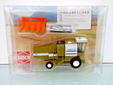Busch 40175 - H0 1:87 - Cosechadora Fortschr.e 514 + Maispflücker - Nuevo en