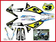 Adesivi grafica per Fantic Motor 50 e 125 4t motard repl rockstar