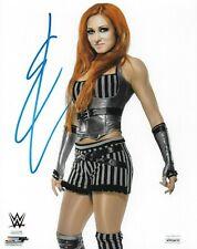 BECKY LYNCH WWE WOMENS DIVA THE MAN SIGNED AUTOGRAPH 8X10 PHOTO #2 JSA COA