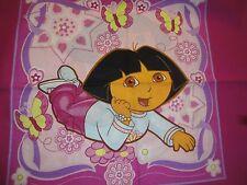 Dora The Explorer Pillow Panel-Different Front & Back-OOP -Fat Quarter